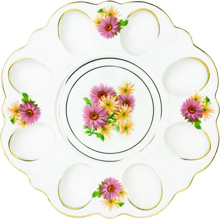 Блюдо для яиц Фарфор Вербилок Розовые герберы. 26351660УП26351660УПБлюдо для яиц и кулича Фарфор Вербилок Розовые герберы станет прекрасным подарком на Пасху и гармонично дополнит сервировку праздничного стола. Блюдо изготовлено из высококачественного фарфора и оформлено ярким рисунком и позолотой. От качества посуды зависит не только вкус еды, но и здоровье человека. Блюдо для яиц Фарфор Вербилок - товар, соответствующий российским стандартам качества. Любой хозяйке будет приятно держать его в руках. С такой посудой сервировка стола превратится в настоящий праздник.