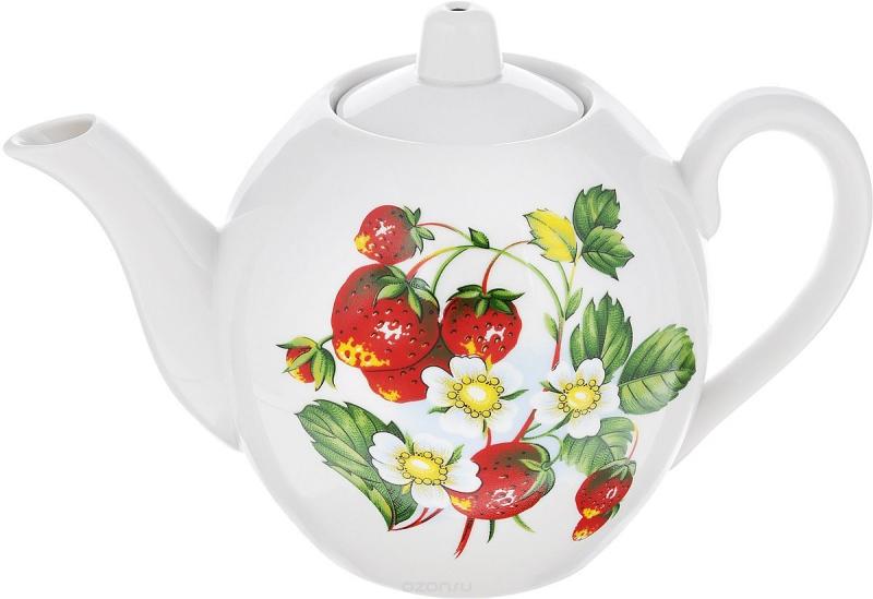 Чайник заварочный Фарфор Вербилок Цветущая земляника. 1644149016441490Для того чтобы насладиться чайной церемонией, требуется не только знание ритуала и чай высшего сорта. Необходим прекрасный заварочный чайник, который может быть как центральной фигурой фарфорового сервиза, так и самостоятельным, отдельным предметом. От его формы и качества фарфора зависит аромат и вкус приготовленного напитка. Именно такие предметы формируют в доме атмосферу истинного уюта, тепла и гармонии. Можно ли сравнить пакетик с чаем или растворимый кофе с заварными вариантами этих напитков, которые нужно готовить самим? Каждый их почитатель ответит, что если применить кофейник или заварочный чайник, то можно ощутить более богатый, ароматный вкус этих замечательных напитков.