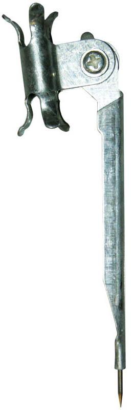 ArtSpace Циркуль Козья ножка длина 10,5 смCMPm_4389Циркуль ArtSpace Козья ножка предназначен для выполнения чертежных работ.Металлический циркуль длиной 10,5 см оснащен фиксированной иглой и держателем для карандаша.