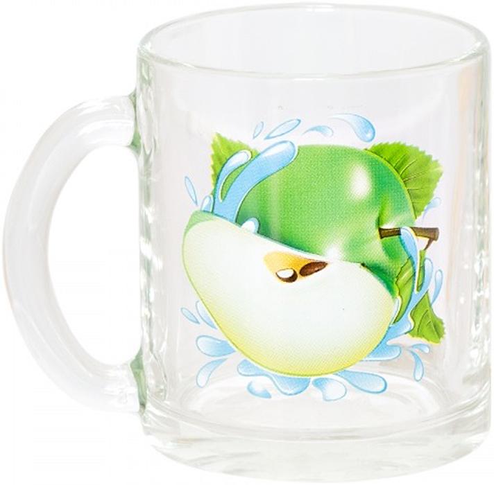 Кружка OSZ Чайная. Яблоко зеленое, 320 мл фужер osz патио цвет прозрачный 50 мл