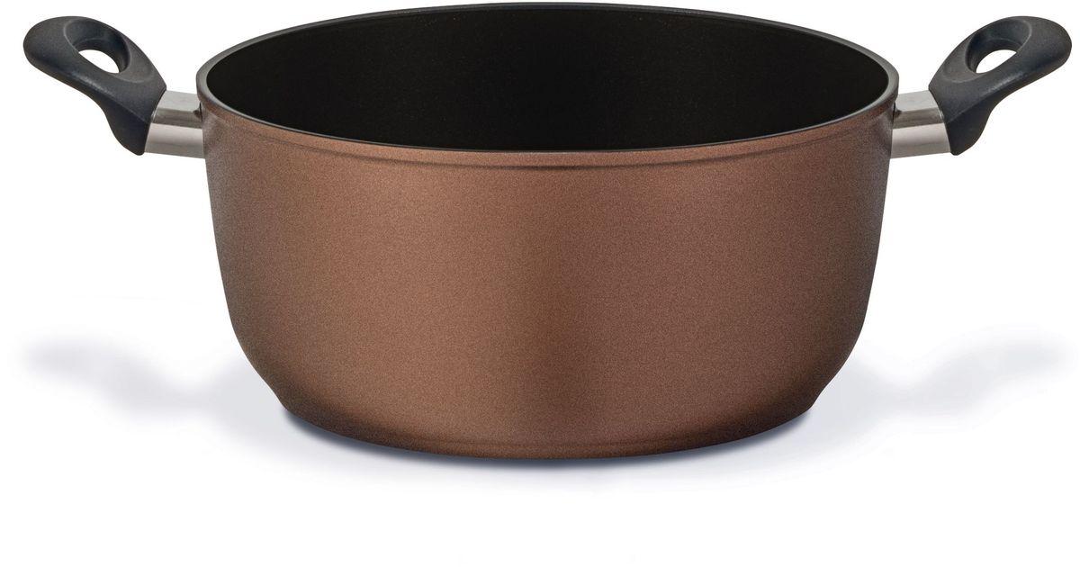 Кастрюля TVS Electra, с антипригарным покрытием, диаметр 20 см кастрюля tvs natura с антипригарным покрытием диаметр 20 см