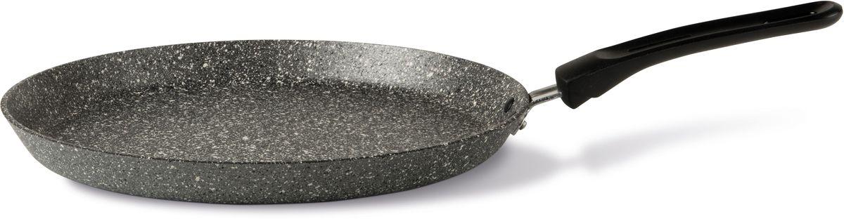 Сковорода блинная TVS Mineralia Induction, с антипригарным покрытием. Диаметр 28 см сковорода appetite dark stone с антипригарным покрытием диаметр 28 см