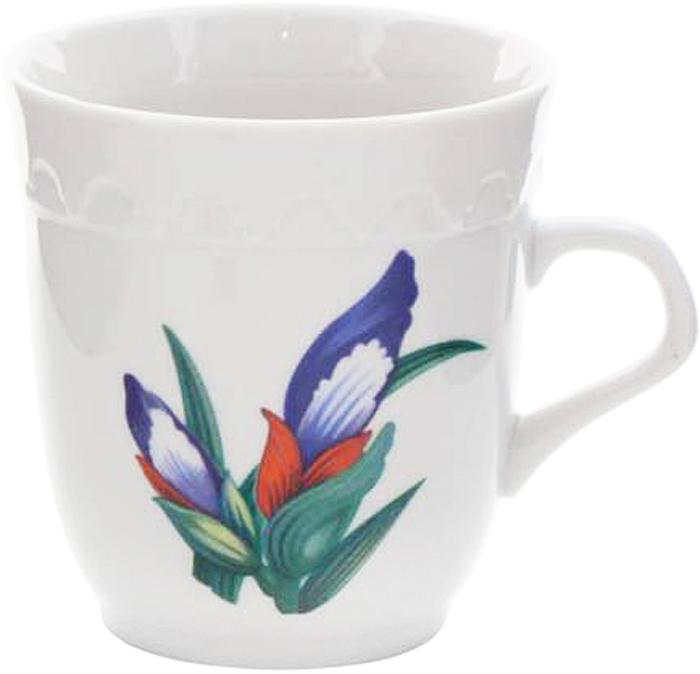 Кружка Фарфор Вербилок Арабеска. Вернисаж. 2432065024320650Красивая фарфоровая кружка способна скрасить любое чаепитие. Посуда из такого материала позволяет сохранить истинный вкус напитка, а также помогает ему дольше оставаться теплым.