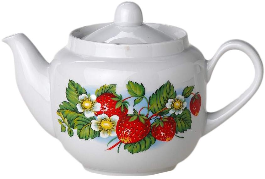 Чайник заварочный Фарфор Вербилок Август. Цветущая земляника. 17314901731490Для того чтобы насладиться чайной церемонией, требуется не только знание ритуала и чай высшего сорта. Необходим прекрасный заварочный чайник, который может быть как центральной фигурой фарфорового сервиза, так и самостоятельным, отдельным предметом. От его формы и качества фарфора зависит аромат и вкус приготовленного напитка. Именно такие предметы формируют в доме атмосферу истинного уюта, тепла и гармонии. Можно ли сравнить пакетик с чаем или растворимый кофе с заварными вариантами этих напитков, которые нужно готовить самим? Каждый их почитатель ответит, что если применить кофейник или заварочный чайник, то можно ощутить более богатый, ароматный вкус этих замечательных напитков.