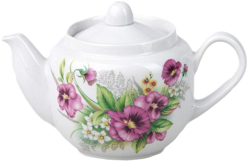 Чайник заварочный Фарфор Вербилок Август. Виола. 17107501710750Для того чтобы насладиться чайной церемонией, требуется не только знание ритуала и чай высшего сорта. Необходим прекрасный заварочный чайник, который может быть как центральной фигурой фарфорового сервиза, так и самостоятельным, отдельным предметом. От его формы и качества фарфора зависит аромат и вкус приготовленного напитка. Именно такие предметы формируют в доме атмосферу истинного уюта, тепла и гармонии. Можно ли сравнить пакетик с чаем или растворимый кофе с заварными вариантами этих напитков, которые нужно готовить самим? Каждый их почитатель ответит, что если применить кофейник или заварочный чайник, то можно ощутить более богатый, ароматный вкус этих замечательных напитков.