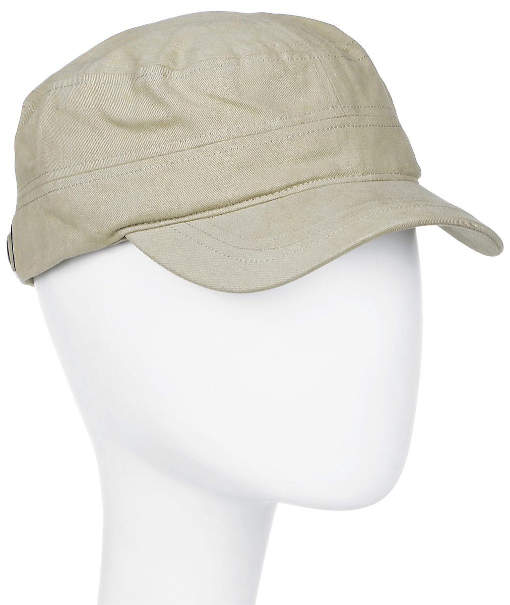 Кепка The North Face Logo Military Hat, цвет: бежевый. T0A9GX78S. Размер S/M (56/57)T0A9GX78SThe North Face Logo Military Hat - аккуратная универсальная кепка с регулировкой обхвата, выполненная в армейском стиле. Верхний слой из хлопка и спандекса и подкладка из хлопка обладают отличными тянущимися свойствами. Вышитый логотип спереди. Кепка The North Face Logo Military Hat - стильное дополнение к любой одежде.