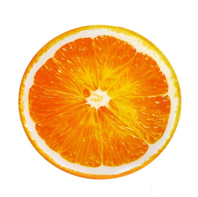 Блюдо сервировочное Walmer Orange, диаметр 20 смW22162020