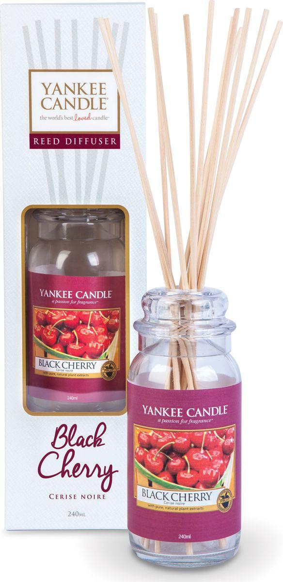 Диффузор Yankee Candle Черная черешня, 240 мл1315788EАбсолютно вкусная сладость богатой, спелой черной вишни.Верхняя нота: Вишня, МиндальСредняя нота: Вишня, КорицаБазовая нота: Черешня