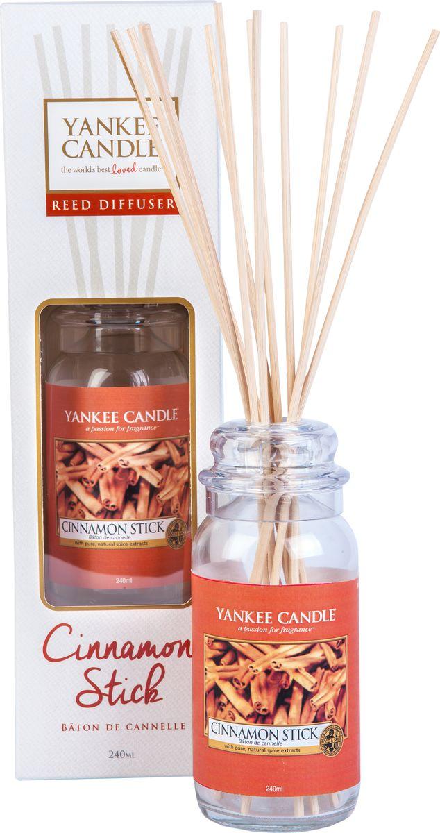 Диффузор Yankee Candle Коричная палочка, 240 мл1315791EАроматом самого настоящего коричного дерева. Верхняя нота: Коричная Палочка.Средняя нота: Гвоздика, Кардамон.Базовая нота: Лавровый Лист, Кедр.