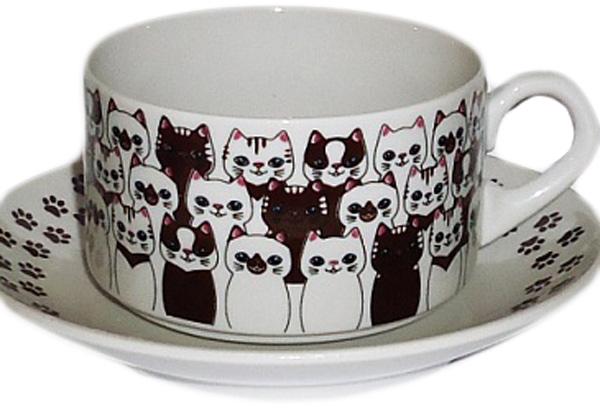 Чайная пара Фарфор Вербилок Кофекота. 36154180УП36154180УПКрасивая фарфоровая кружка способна скрасить любое чаепитие. Посуда из такого материала позволяет сохранить истинный вкус напитка, а также помогает ему дольше оставаться теплым.