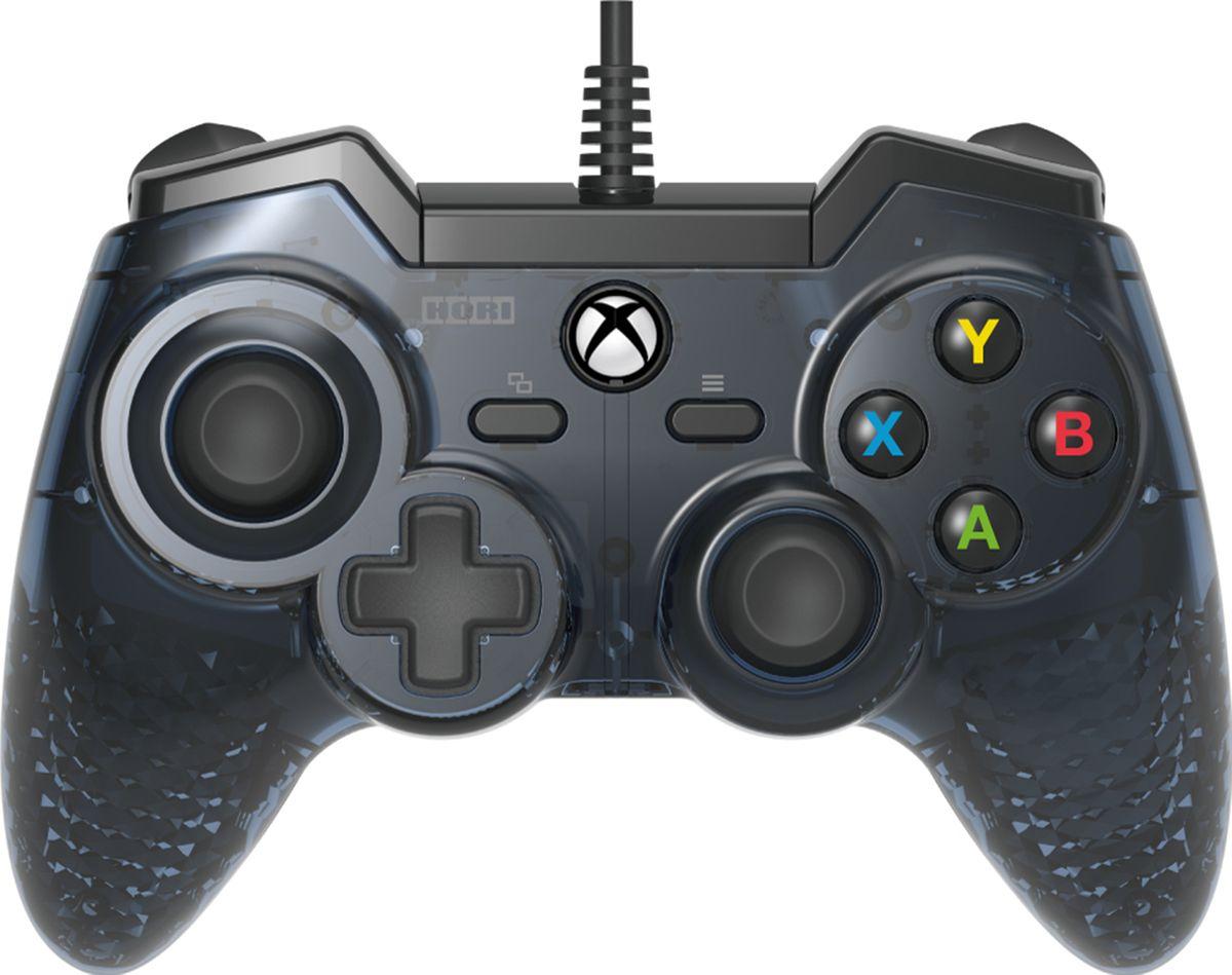 Hori Horipad Pro, Black геймпад для XboxOne/PCHR4•Официально лицензирован Microsoft (Совместим c Xbox One)•Современная обратная связь c виброрежимом •4 дополнительных полностью программируемых триггера сзади•НОВЫЕ аналоговые сверх чувствительные кнопки•Выход для наушников 3,5 мм
