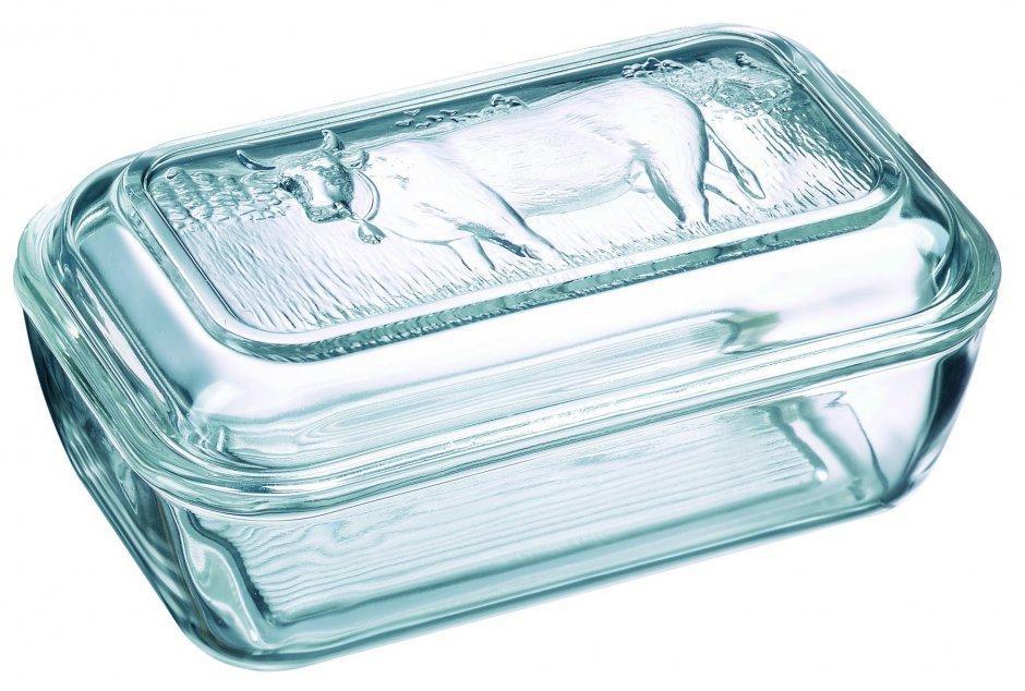 Масленка Luminarc Коровка, с крышкой товары для дома