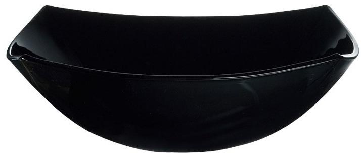 Салатник Luminarc КВАДРАТО, цвет: черный, 24 х 24 см6931Бренд Luminarc – это один из лидеров мирового рынка по производству посуды и товаров для дома. В основе процесса изготовления лежит высококачественное сырье, а также строгий контроль качества. Товары для дома Luminarc уважают и ценят во всем мире, а многие эксперты считают данного производителя эталоном совершенства.