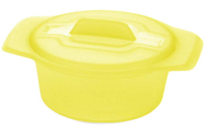 Миска Tescoma Fusion Diet Revolution, цвет: желтый, диаметр 15 см.638315_желтыйМиска Tescoma Fusion Diet Revolution, цвет: желтый, диаметр 15 см.