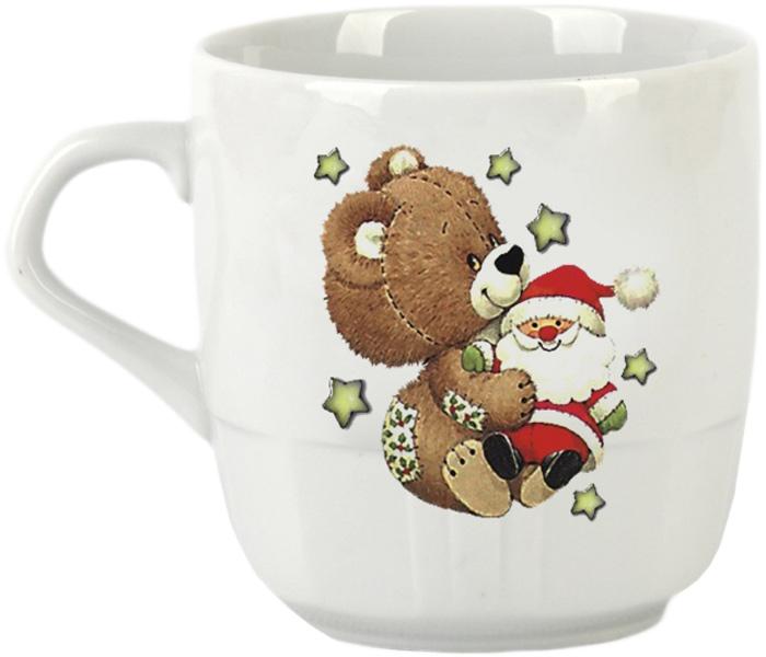 Кружка Фарфор Вербилок Мишка. 58128405812840Красивая фарфоровая кружка способна скрасить любое чаепитие. Посуда из такого материала позволяет сохранить истинный вкус напитка, а также помогает ему дольше оставаться теплым.