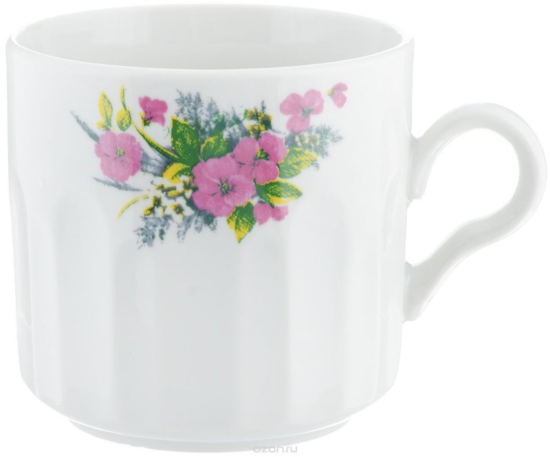 Кружка Фарфор Вербилок Виола. 57207505720750Красивая фарфоровая кружка способна скрасить любое чаепитие. Посуда из такого материала позволяет сохранить истинный вкус напитка, а также помогает ему дольше оставаться теплым.