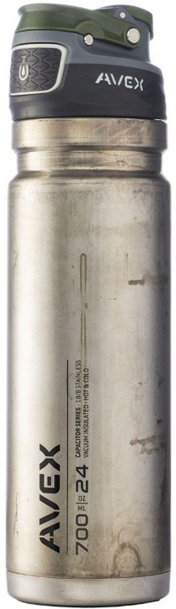 Термокружка Avex Freeflow, 700 мл, цвет: стальной. AVEX0776AVEX0776