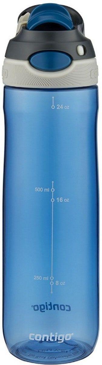 Бутылка для воды Contigo Autospout Chug, 720 мл, цвет: синий. contigo0764contigo0764