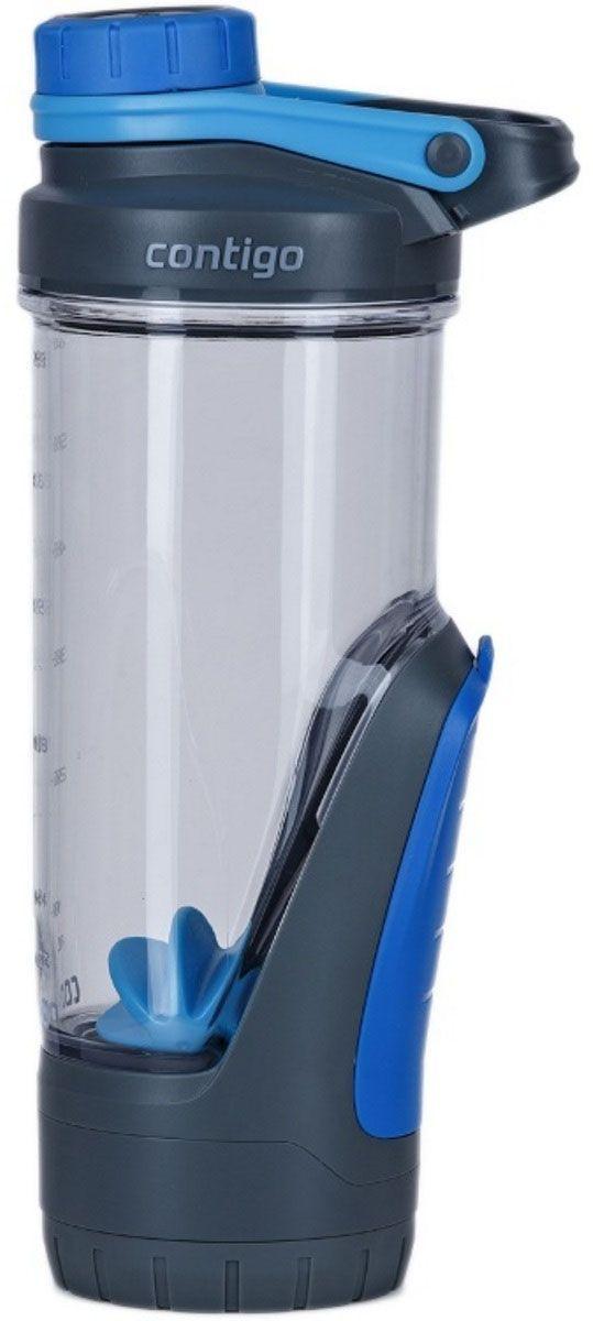 Фитнес-бутылка Contigo Kangeroo, 720 мл, цвет: синий. contigo0766contigo0766