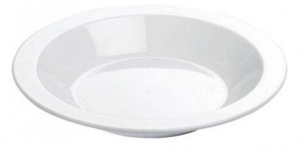 Тарелка глубокая Tescoma Gustito, 22см. 386332386332тарелка изготовлена из первоклассного фарфора;- идеально подходит для сервировки любого стола;- подходит для микроволновой печи, холодильника и посудомоечной машины (-18оС - 200оС);Материал: фарфор