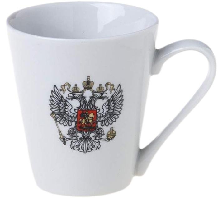 Кружка Фарфор Вербилок Коника. Герб. 3449274034492740Красивая фарфоровая кружка способна скрасить любое чаепитие. Посуда из такого материала позволяет сохранить истинный вкус напитка, а также помогает ему дольше оставаться теплым.
