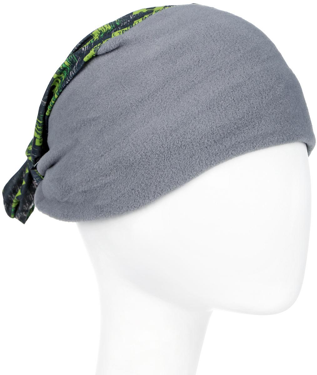 Бандана Buff Polar Von Green Flint-Green-Standard, цвет: хаки. 113108.845.10.00. Размер 53/62 см  - купить со скидкой