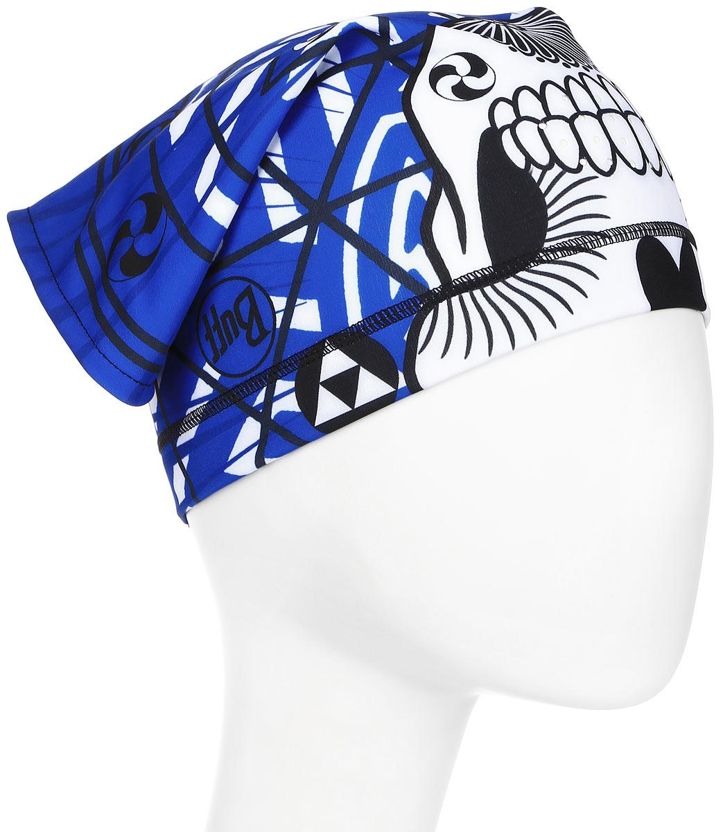 Бандана Buff Tech Fleece, цвет: синий. 113378.707.10.00. Размер универсальный113378.707.10.00Эту бандану можно носить на шее или на лице, закрывая рот, нос в ветреные дни. Треугольный двойной слой флиса и микрофибры делает его удобным и единственным в своем роде.