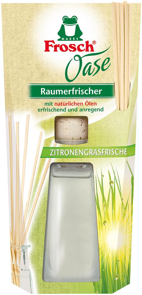 Ароматизатор воздуха Frosch Лимонник, 90 мл108085Ароматизатор воздуха Frosch Лимонник представляет собой чувственноевдохновение от природы в стильной и элегантной стеклянной бутылке.Натуральный ненавязчивый аромат благотворно влияет на микроклимат впомещении, вызывает приятные воспоминания и пробуждает чувства.Аромат лимонника обладает успокаивающим эффектом и способствуетрасслаблению. Пробка и палочки изготовлены из натуральной древесины.Способ применения: выньте пробку и вставьте деревянные палочки в бутылку.Чем больше деревянных палочек вы используете, тем интенсивней аромат вкомнате.Состав: отдушки, масла лимонника.Товар сертифицирован.