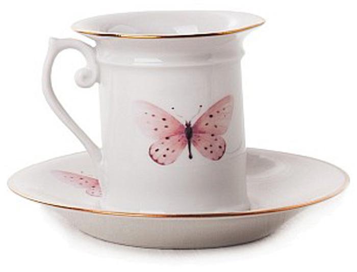 Набор кофейный Фарфор Вербилок Бабочки. 3316000П3316000ПСчитается, что как день начнешь, так его и проведешь. Поэтому просыпаться хорошо пораньше, в хорошем настроении, и начинать каждое утро с улыбки и чашечки ароматного кофе. При этом немаловажно, чтобы посуда для кофе была соответствующая: красивая, изящная и непременно способствующая поднятию настроения! Среди разнообразия форм и декоров каждый, даже самый взыскательный эстет, непременно подберет себе посуду по вкусу. Если Вы относитесь к любителям кофе, эти замечательные чашки и пары Вы просто не сможете обделить своим вниманием!