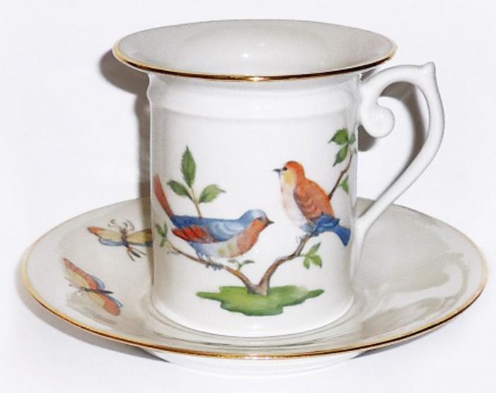 Набор кофейный Фарфор Вербилок Птицы. 3315000П3315000ПСчитается, что как день начнешь, так его и проведешь. Поэтому просыпаться хорошо пораньше, в хорошем настроении, и начинать каждое утро с улыбки и чашечки ароматного кофе. При этом немаловажно, чтобы посуда для кофе была соответствующая: красивая, изящная и непременно способствующая поднятию настроения! Среди разнообразия форм и декоров каждый, даже самый взыскательный эстет, непременно подберет себе посуду по вкусу. Если Вы относитесь к любителям кофе, эти замечательные чашки и пары Вы просто не сможете обделить своим вниманием!
