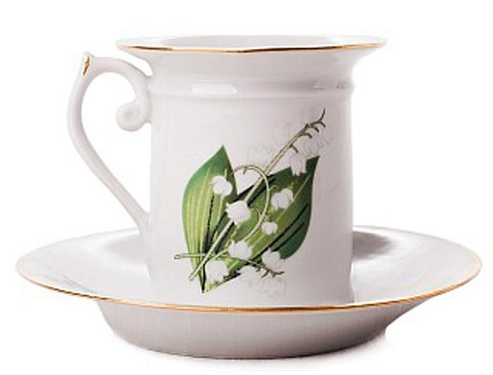 Набор кофейный Фарфор Вербилок Ландыши. 3311000П3311000ПСчитается, что как день начнешь, так его и проведешь. Поэтому просыпаться хорошо пораньше, в хорошем настроении, и начинать каждое утро с улыбки и чашечки ароматного кофе. При этом немаловажно, чтобы посуда для кофе была соответствующая: красивая, изящная и непременно способствующая поднятию настроения! Среди разнообразия форм и декоров каждый, даже самый взыскательный эстет, непременно подберет себе посуду по вкусу. Если Вы относитесь к любителям кофе, эти замечательные чашки и пары Вы просто не сможете обделить своим вниманием!