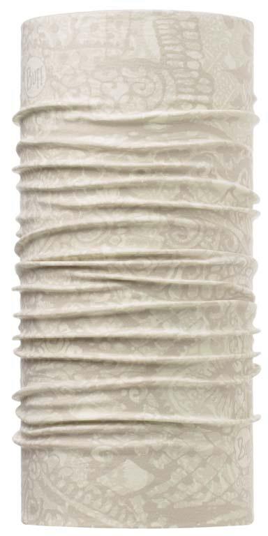 Бандана Buff Active High UV Zandit, цвет: кремовый. 108584.00. Размер универсальный108584.00Buff - это оригинальные, мультифункциональные, бесшовные головные уборы - удобные и комфортные для любого вида активного отдыха и спорта. Оригинальные, потому что Buff был и является первым в мире брендом мультифункциональных, бесшовных и универсальных головных уборов. Мультифункциональные, потому что их можно носить самыми разными способами: как шарф, как шапку, как балаклаву, косынку, бандану, маску, напульсник и многими другими - решает ваша фантазия! Универсальный головной убор, который можно носить более чем двенадцатью способами, который можно использовать при занятии любым видом спорта, езде на велосипеде и мотоцикле, катаясь или бегая на лыжах, и даже как аксессуар в городской одежде. Бесшовные, благодаря эластичности, позволяющей использовать эти головные уборы как угодно и не беспокоиться о том, что кожа может быть натерта или раздражена швами. Размер (обхват головы): 53-62 см.