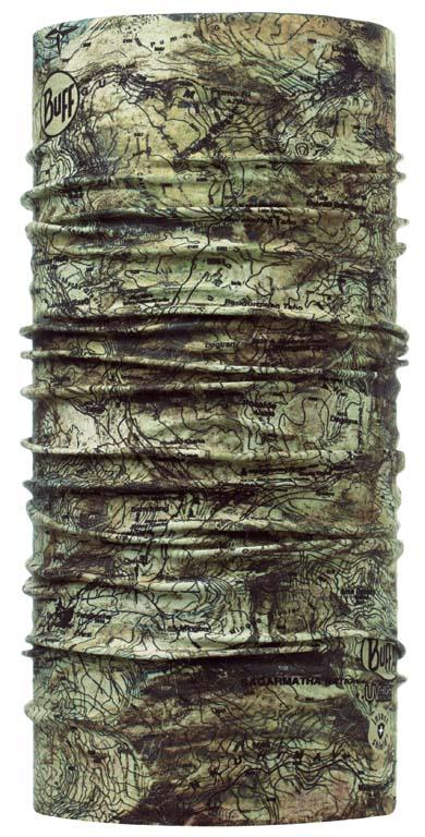 Бандана Buff Active Insect Shield Sagarmatha, цвет: хаки. 108599.00. Размер универсальный108599.00Buff - это оригинальные, мультифункциональные, бесшовные головные уборы - удобные и комфортные для любого вида активного отдыха и спорта. Оригинальные, потому что Buff был и является первым в мире брендом мультифункциональных, бесшовных и универсальных головных уборов. Мультифункциональные, потому что их можно носить самыми разными способами: как шарф, как шапку, как балаклаву, косынку, бандану, маску, напульсник и многими другими - решает ваша фантазия! Универсальный головной убор, который можно носить более чем двенадцатью способами, который можно использовать при занятии любым видом спорта, езде на велосипеде и мотоцикле, катаясь или бегая на лыжах, и даже как аксессуар в городской одежде. Бесшовные, благодаря эластичности, позволяющей использовать эти головные уборы как угодно и не беспокоиться о том, что кожа может быть натерта или раздражена швами. Размер (обхват головы): 53-62 см.