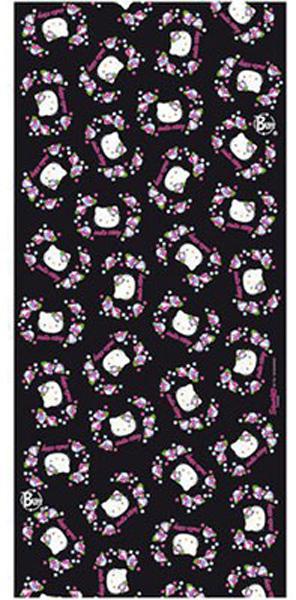 Бандана Buff Flowers Black Jr., цвет: черный. 81732. Размер универсальный81732Buff - это оригинальные, мультифункциональные, бесшовные головные уборы - удобные и комфортные для любого вида активного отдыха и спорта. Оригинальные, потому что Buff был и является первым в мире брендом мультифункциональных, бесшовных и универсальных головных уборов. Мультифункциональные, потому что их можно носить самыми разными способами: как шарф, как шапку, как балаклаву, косынку, бандану, маску, напульсник и многими другими - решает ваша фантазия! Универсальный головной убор, который можно носить более чем двенадцатью способами, который можно использовать при занятии любым видом спорта, езде на велосипеде и мотоцикле, катаясь или бегая на лыжах, и даже как аксессуар в городской одежде. Бесшовные, благодаря эластичности, позволяющей использовать эти головные уборы как угодно и не беспокоиться о том, что кожа может быть натерта или раздражена швами.