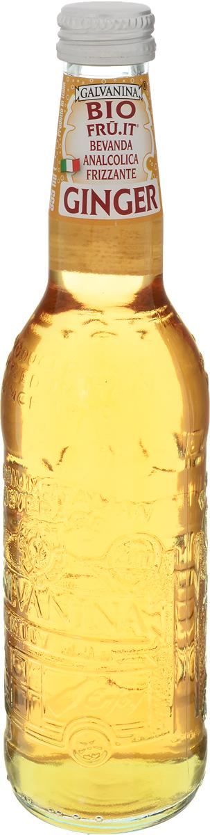 Galvanina BIO Ginger напиток газированный имбирь, 355 мл8007885753009Газированный напиток Galvanina относится к премиум напиткам среди безалкогольных.Завод располагается в Италии, где из чистой ключевой воды и фруктов делают этот чудо-напиток. Отборные плоды доставляются из Сицилии, после чего происходит процесс холодного отжима, что позволяет сохранить в выжатом соке все витамины и элементы. Затем по особой технологии ингредиенты обрабатываются и смешиваются, так и получается достаточно полезный и вкусный, натуральный напиток, который не оставит без положительного мнения даже самого привередливого потребителя. Энергетическая ценность: 56 ккал\100 мл.Пищевая ценность 100 мл: белки 0 г. жиры 0 г, углеводы 14 г (из них сахар 14 г), пищевые волокна 0 г, натрий 0,01 г.