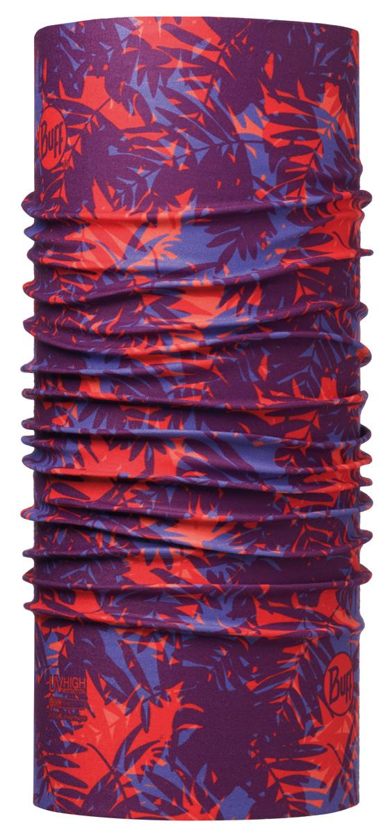 Бандана Buff High UV Gals Lilac, цвет: красный. 113617.525.10.00. Размер универсальный113617.525.10.00Buff - это оригинальные, мультифункциональные, бесшовные головные уборы - удобные и комфортные для любого вида активного отдыха и спорта. Оригинальные, потому что Buff был и является первым в мире брендом мультифункциональных, бесшовных и универсальных головных уборов. Мультифункциональные, потому что их можно носить самыми разными способами: как шарф, как шапку, как балаклаву, косынку, бандану, маску, напульсник и многими другими - решает Ваша фантазия! Универсальный головной убор, который можно носить более чем двенадцатью способами, который можно использовать при занятии любым видом спорта, езде на велосипеде и мотоцикле, катаясь или бегая на лыжах, и даже как аксессуар в городской одежде. Бесшовные, благодаря эластичности, позволяющей использовать эти головные уборы как угодно и не беспокоиться о том, что кожа может быть натерта или раздражена швами.
