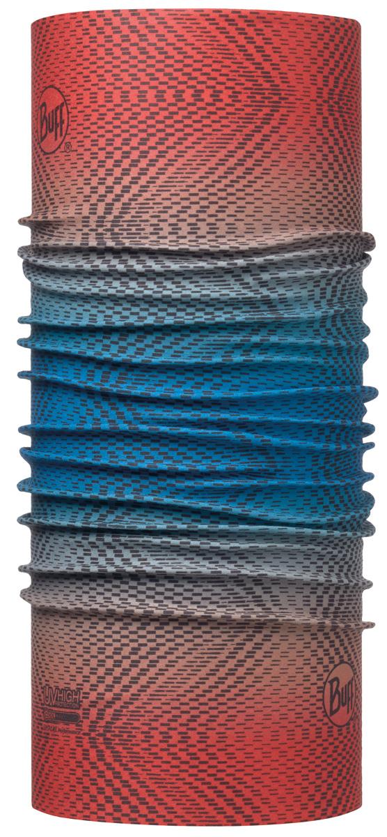 Бандана Buff High UV Jam Multi, цвет: розовый. 113620.555.10.00. Размер универсальный113620.555.10.00Buff - это оригинальные, мультифункциональные, бесшовные головные уборы - удобные и комфортные для любого вида активного отдыха и спорта. Оригинальные, потому что Buff был и является первым в мире брендом мультифункциональных, бесшовных и универсальных головных уборов. Мультифункциональные, потому что их можно носить самыми разными способами: как шарф, как шапку, как балаклаву, косынку, бандану, маску, напульсник и многими другими - решает Ваша фантазия! Универсальный головной убор, который можно носить более чем двенадцатью способами, который можно использовать при занятии любым видом спорта, езде на велосипеде и мотоцикле, катаясь или бегая на лыжах, и даже как аксессуар в городской одежде. Бесшовные, благодаря эластичности, позволяющей использовать эти головные уборы как угодно и не беспокоиться о том, что кожа может быть натерта или раздражена швами.