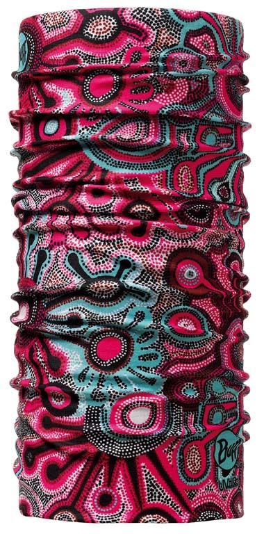 Бандана Buff High UV Protection Africa Mood, цвет: красный. 100095.00. Размер универсальный100095.00Buff - это оригинальные, мультифункциональные, бесшовные головные уборы - удобные и комфортные для любого вида активного отдыха и спорта. Оригинальные, потому что Buff был и является первым в мире брендом мультифункциональных, бесшовных и универсальных головных уборов. Мультифункциональные, потому что их можно носить самыми разными способами: как шарф, как шапку, как балаклаву, косынку, бандану, маску, напульсник и многими другими - решает Ваша фантазия! Универсальный головной убор, который можно носить более чем двенадцатью способами, который можно использовать при занятии любым видом спорта, езде на велосипеде и мотоцикле, катаясь или бегая на лыжах, и даже как аксессуар в городской одежде. Бесшовные, благодаря эластичности, позволяющей использовать эти головные уборы как угодно и не беспокоиться о том, что кожа может быть натерта или раздражена швами.