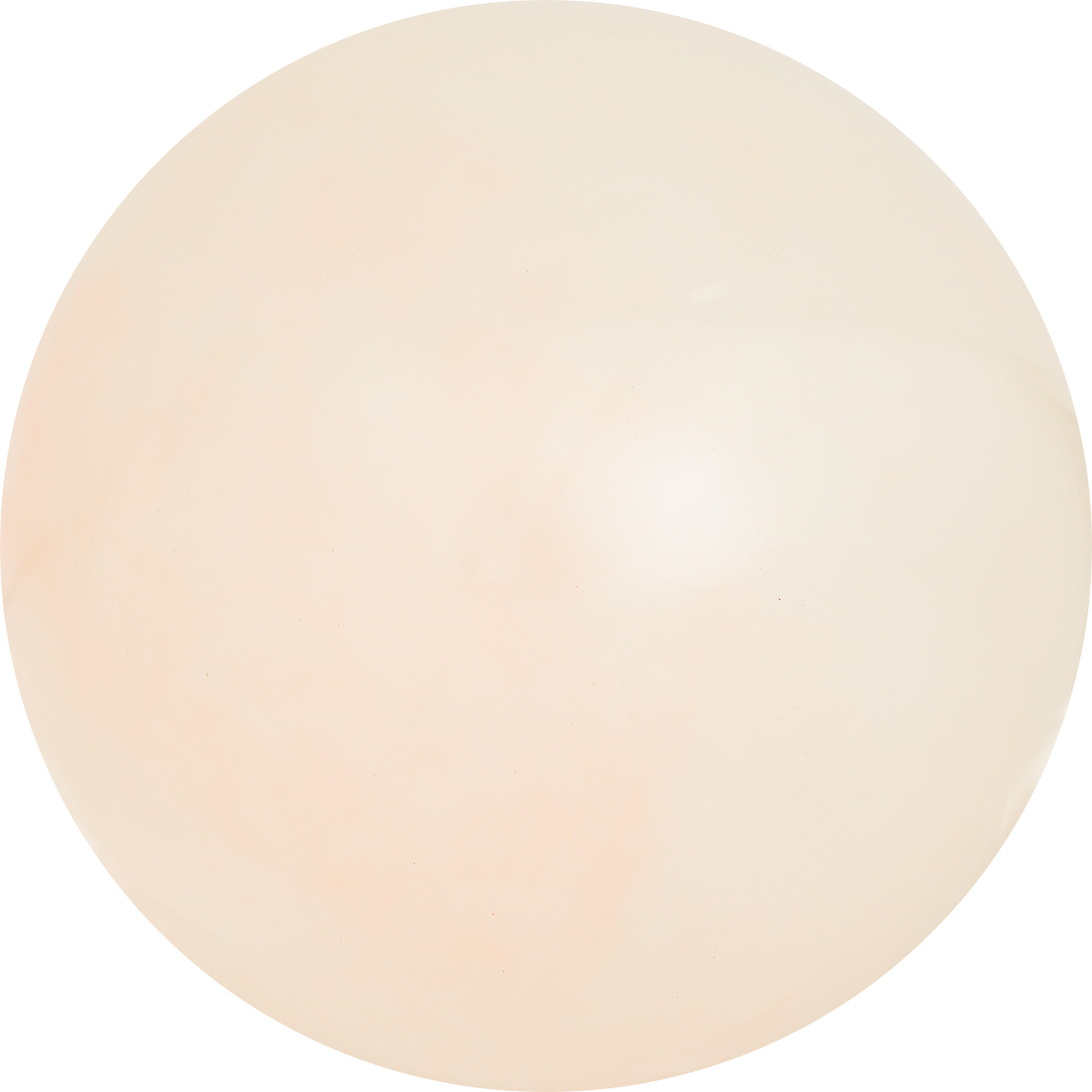 Забияка Мяч Слияние цвета цвет бежевый 20 см