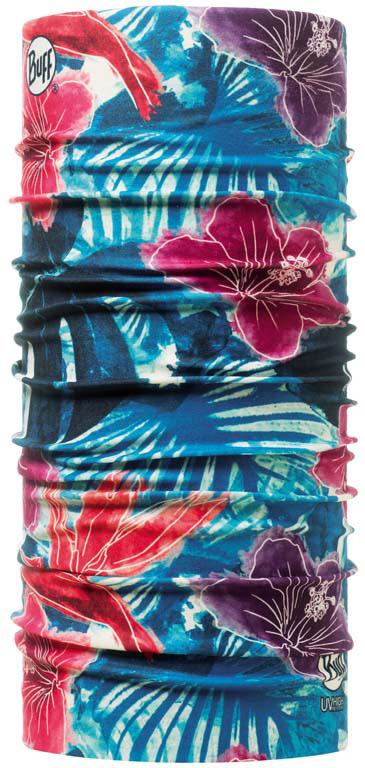 Бандана Buff High UV Protectionwith Insect Shield Craig, цвет: синий. 105835.00. Размер универсальный105835.00Buff - это оригинальные, мультифункциональные, бесшовные головные уборы - удобные и комфортные для любого вида активного отдыха и спорта. Оригинальные, потому что Buff был и является первым в мире брендом мультифункциональных, бесшовных и универсальных головных уборов. Мультифункциональные, потому что их можно носить самыми разными способами: как шарф, как шапку, как балаклаву, косынку, бандану, маску, напульсник и многими другими - решает Ваша фантазия! Универсальный головной убор, который можно носить более чем двенадцатью способами, который можно использовать при занятии любым видом спорта, езде на велосипеде и мотоцикле, катаясь или бегая на лыжах, и даже как аксессуар в городской одежде. Бесшовные, благодаря эластичности, позволяющей использовать эти головные уборы как угодно и не беспокоиться о том, что кожа может быть натерта или раздражена швами.