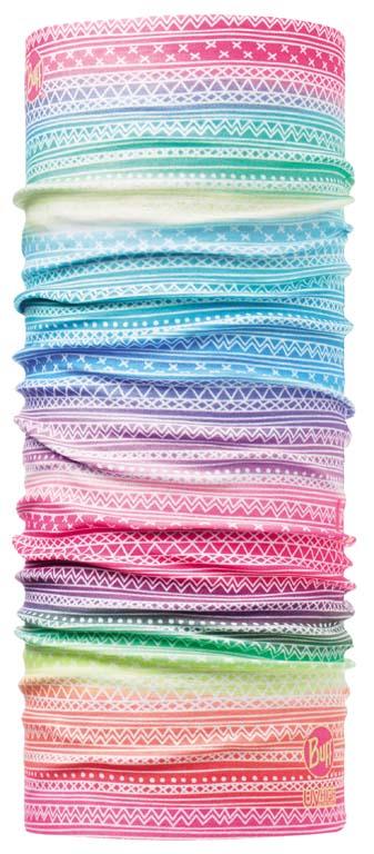 Купить Бандана Buff Junior High UV Faded, цвет: розовый. 108551.00. Размер универсальный