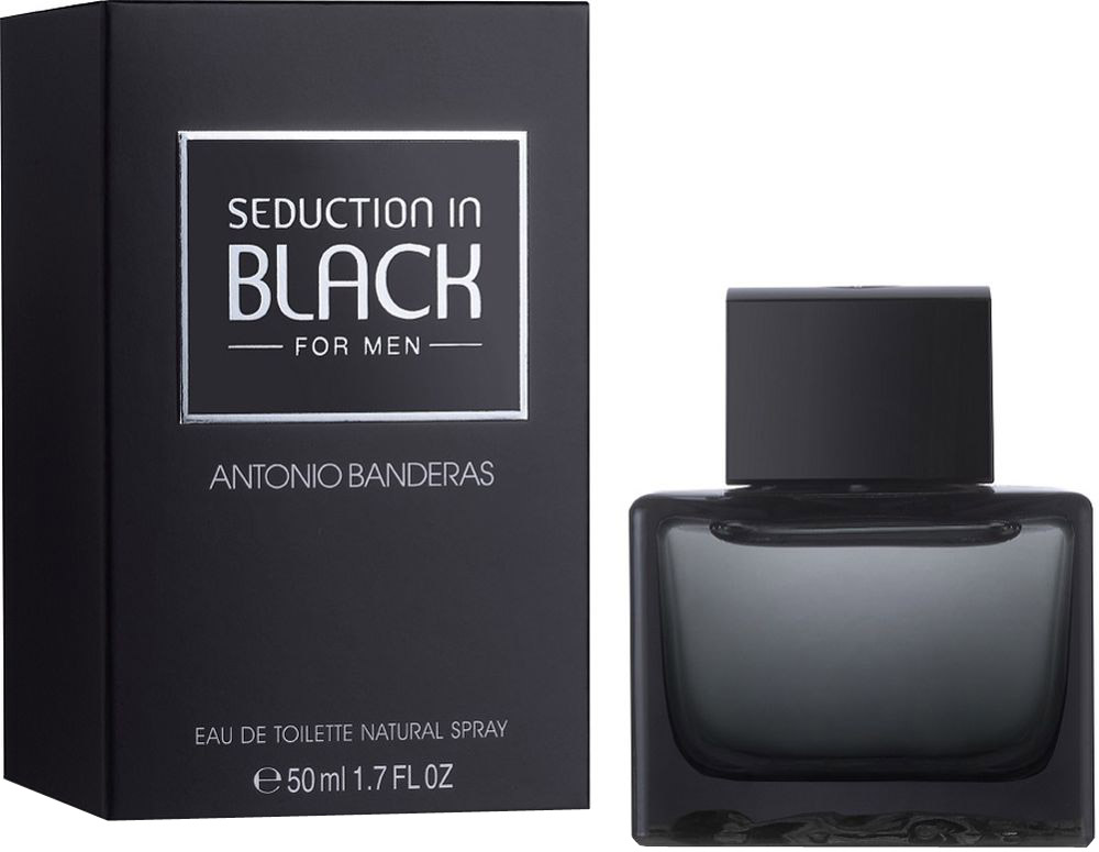 Antonio Banderas Seduction In Black. Туалетная вода, 50 мл antonio banderas seduction in black splash 100 ml