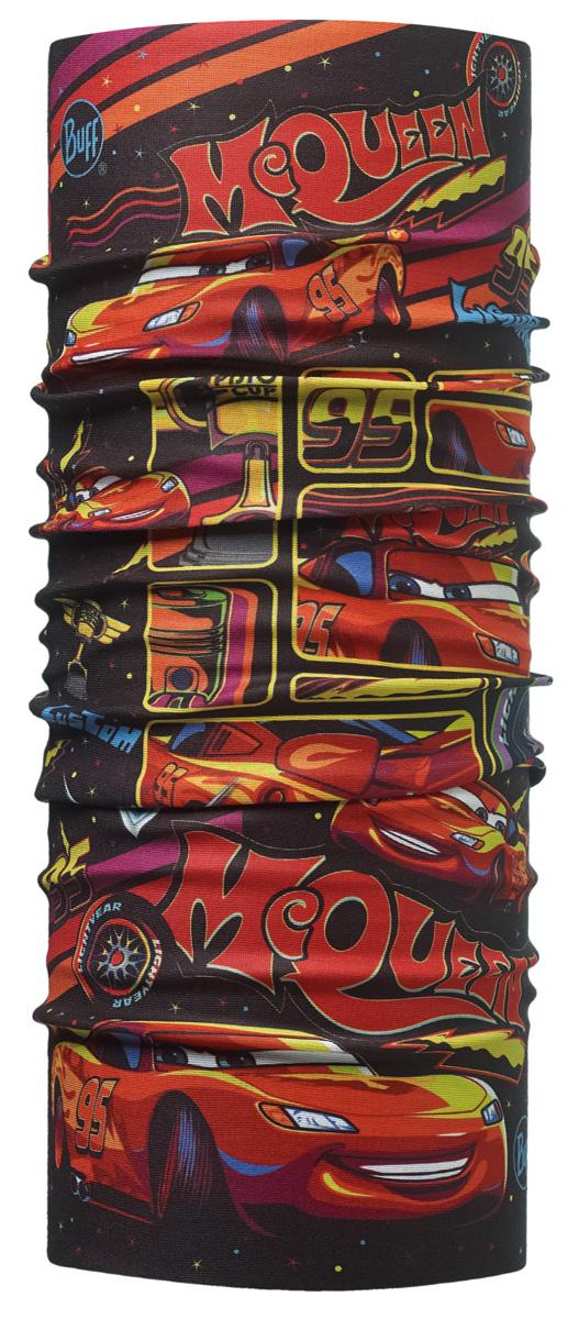 Бандана Buff Licenses Cars Jr Original Lights On Multi, цвет: красный. 113214.555.10.00. Размер универсальный113214.555.10.00Buff - это оригинальные, мультифункциональные, бесшовные головные уборы - удобные и комфортные для любого вида активного отдыха и спорта. Оригинальные, потому что Buff был и является первым в мире брендом мультифункциональных, бесшовных и универсальных головных уборов. Мультифункциональные, потому что их можно носить самыми разными способами: как шарф, как шапку, как балаклаву, косынку, бандану, маску, напульсник и многими другими - решает Ваша фантазия! Универсальный головной убор, который можно носить более чем двенадцатью способами, который можно использовать при занятии любым видом спорта, езде на велосипеде и мотоцикле, катаясь или бегая на лыжах, и даже как аксессуар в городской одежде. Бесшовные, благодаря эластичности, позволяющей использовать эти головные уборы как угодно и не беспокоиться о том, что кожа может быть натерта или раздражена швами.