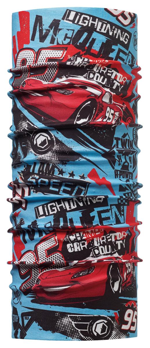 Бандана Buff Licenses Cars Jr Original Power Multi, цвет: синий. 113213.555.10.00. Размер универсальный113213.555.10.00Buff - это оригинальные, мультифункциональные, бесшовные головные уборы - удобные и комфортные для любого вида активного отдыха и спорта. Оригинальные, потому что Buff был и является первым в мире брендом мультифункциональных, бесшовных и универсальных головных уборов. Мультифункциональные, потому что их можно носить самыми разными способами: как шарф, как шапку, как балаклаву, косынку, бандану, маску, напульсник и многими другими - решает Ваша фантазия! Универсальный головной убор, который можно носить более чем двенадцатью способами, который можно использовать при занятии любым видом спорта, езде на велосипеде и мотоцикле, катаясь или бегая на лыжах, и даже как аксессуар в городской одежде. Бесшовные, благодаря эластичности, позволяющей использовать эти головные уборы как угодно и не беспокоиться о том, что кожа может быть натерта или раздражена швами.