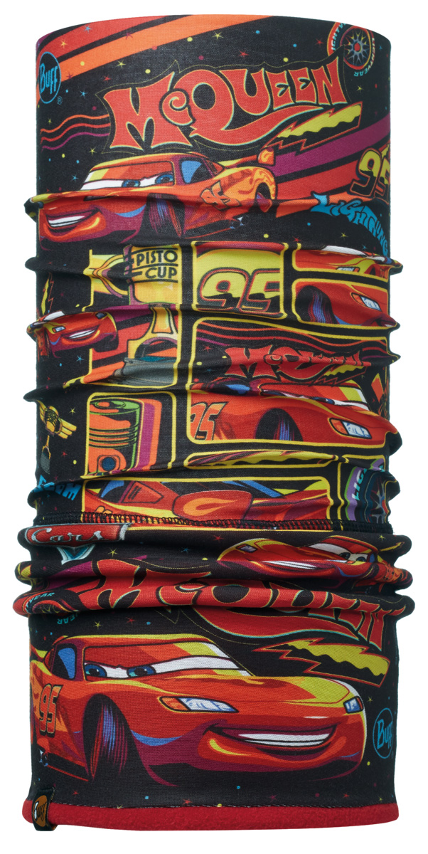 Бандана Buff Licenses Cars Jr Polar Lights On Multi / Samba, цвет: красный. 113215.555.10.00. Размер универсальный113215.555.10.00Теплая бандана-шарф Polar Buff - это бандана-труба из серии Original Buff, пришитая к цилиндру из Polartec Classic Fleece 100. В холодную погоду Polar Buff поддерживает нормальную температуру тела и предотвращает потерю тепла, благодаря комбинации микрофибры и Polartec. Благодаря своей универсальности, функциональности и практичности Polar Buff завоевал огромную популярность среди людей, ее можно использовать как шапку, шарф, бандану на лицо и уши, балаклаву, маску. Неотъемлемая часть зимней одежды, подходит для любой активности в холодное время года.