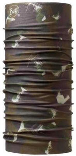 Бандана Buff Original Camoatins, цвет: коричневый. 107827.00. Размер универсальный107827.00Buff - это оригинальные, мультифункциональные, бесшовные головные уборы - удобные и комфортные для любого вида активного отдыха и спорта. Оригинальные, потому что Buff был и является первым в мире брендом мультифункциональных, бесшовных и универсальных головных уборов. Мультифункциональные, потому что их можно носить самыми разными способами: как шарф, как шапку, как балаклаву, косынку, бандану, маску, напульсник и многими другими - решает Ваша фантазия! Универсальный головной убор, который можно носить более чем двенадцатью способами, который можно использовать при занятии любым видом спорта, езде на велосипеде и мотоцикле, катаясь или бегая на лыжах, и даже как аксессуар в городской одежде. Бесшовные, благодаря эластичности, позволяющей использовать эти головные уборы как угодно и не беспокоиться о том, что кожа может быть натерта или раздражена швами. Размер (обхват головы): 53-62 см.