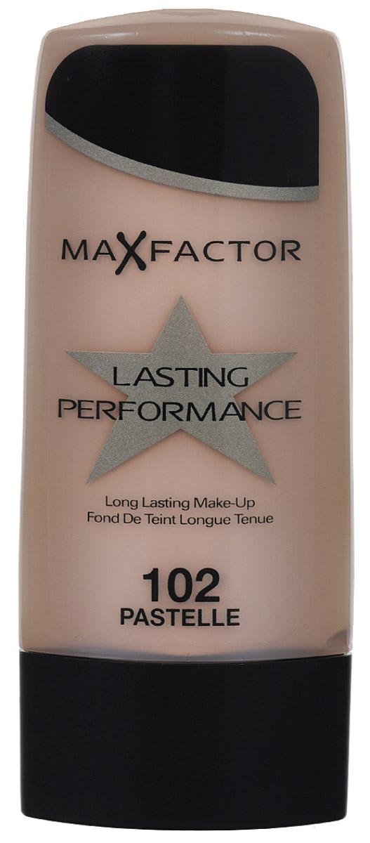 Max Factor Основа под макияж Lasting Perfomance, тон №102, 35 мл81613110Max Factor Lasting Perfomance - великолепная, по-настоящему стойкая тональная основа. Держится в течение 8 часов, не смазываясь и не оставляя следов на одежде. Создает красивый полуматовый эффект. Скрывая недостатки кожи, дарит ощущение легкости и естественности. Не ложится на кожу полосами, не забивает поры и не вызывает появления угревой сыпи. Без запаха.Одна из причин, по которой нанесенный на кожу Lasting Performance не вызывает ощущения чего-то неестественного, это входящие в его состав силиконы. Они делают основу более легкой и менее жирной. Товар сертифицирован.