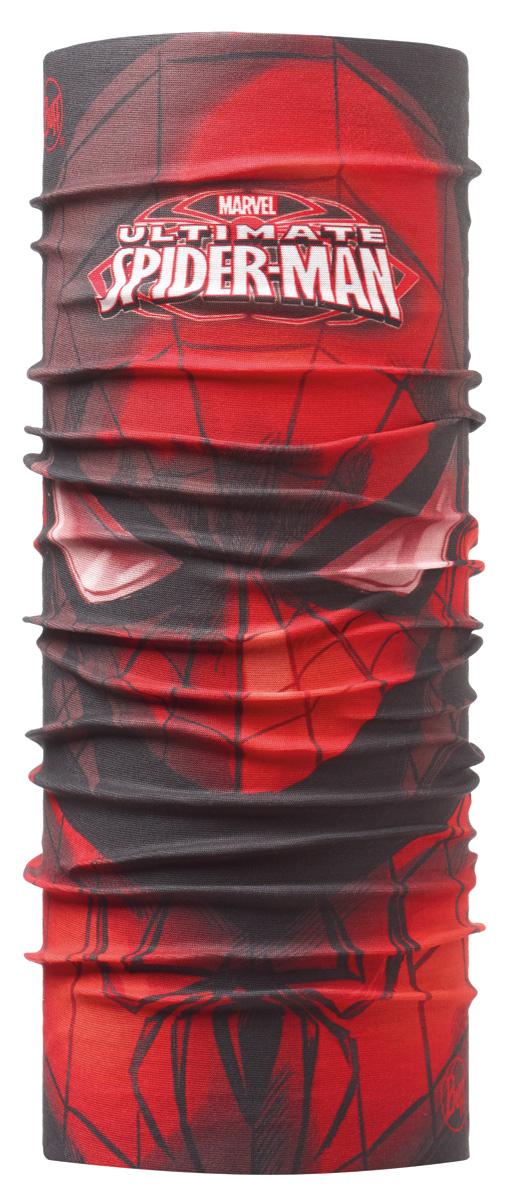 Бандана Buff Original Ultimate Jr, цвет: красный. 111139.00. Размер универсальный111139.00Buff - это оригинальные, мультифункциональные, бесшовные головные уборы - удобные и комфортные для любого вида активного отдыха и спорта. Оригинальные, потому что Buff был и является первым в мире брендом мультифункциональных, бесшовных и универсальных головных уборов. Мультифункциональные, потому что их можно носить самыми разными способами: как шарф, как шапку, как балаклаву, косынку, бандану, маску, напульсник и многими другими - решает Ваша фантазия! Универсальный головной убор, который можно носить более чем двенадцатью способами, который можно использовать при занятии любым видом спорта, езде на велосипеде и мотоцикле, катаясь или бегая на лыжах, и даже как аксессуар в городской одежде. Бесшовные, благодаря эластичности, позволяющей использовать эти головные уборы как угодно и не беспокоиться о том, что кожа может быть натерта или раздражена швами. Размер (обхват головы): 50-55 см.