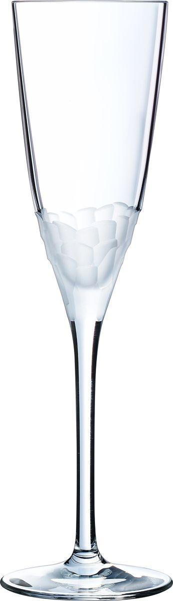 Набор бокалов Cristal dArques Intuition, для шампанского, 170 мл, 6 шт. L6644L6644Набор Cristal dArques Intuition состоит из шести бокалов, выполненных из хрустального стекла. Изделия оснащены ножками. Бокалы сочетают в себе элегантный дизайн и функциональность. Благодаря такому набору пить напитки будет еще вкуснее.Множество ограненных, четких, структурированных поверхностей пересекается случайным образом, образуя плотный лабиринт. Кубизм на столе. Коллекция Intuition — это проникновенное сверкающее хрусталем посвящение кубизму. Основания стаканов и стенки бокалов покрыты фрагментированными гранями, напоминающими манеру художников-кубистов. Основные геометрические формы непрерывно раскладываются и составляются вновь. Ограненные, четкие, структурированные поверхности пересекаются случайным образом. Геометрические объемы освобождаются, создавая густой лабиринт. Текстурированные и матовые поверхности контрастируют с блеском гладкого стекла, создавая переменчивый декор, в котором чередуются плоские и рельефные элементы.