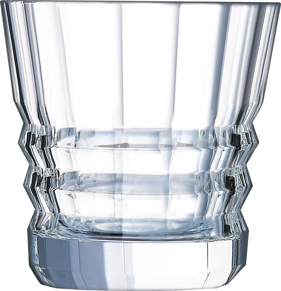 Набор стаканов Cristal d'Arques Architecte, 380 мл, 6 шт набор бокалов cristal d arques набор фужеров fleury epi cristal d arques 200мл 6 шт